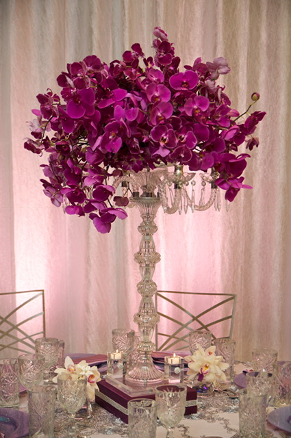 Orchid Wedding Centerpices